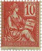 France - YT 112 - Neuf avec charnières