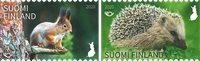 Finland - Pindsvin/egern - Postfrisk sæt 2v
