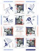 France - Boris Vian - Feuillet spécial neuf