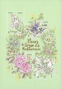 France - Fleurs du Méditerranée - Bloc-feuillet neuf aromatique