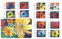 France - Fleurs Cosmos - Carnet neuf
