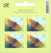 Estland - Vlinders - Postfris velletje