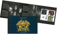 England - Queen - Postfrisk prestigehæfte