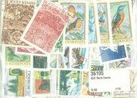 600 sellos tema Fauna-Flora