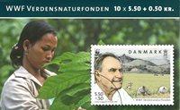Danmark - Prins Henrik - Postfrisk frimærkehæfte