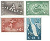 Norvège - AFA 550-553 - Neuf