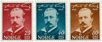 Norge - AFA 354-356 - Postfrisk