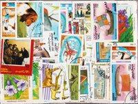 Afghanistan - 350 verschillende postzegels