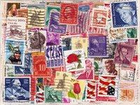 USA - 400 verschillende postzegels