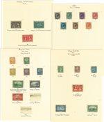 Canada - Samling 1897-1938 på løse albumblade