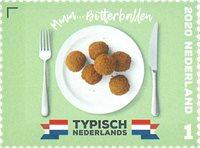 Pays-Bas - Gastronomie Typiquement néerlandais - Timbre neuf