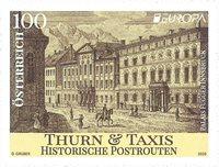 Itävalta - Eurooppa 2020 - Muinaiset postireitit - Postituoreena