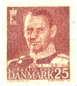Danemark - AFA 321 timbre neuf