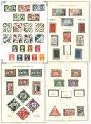 Monaco - Collection sur feuilles d'album