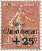 Frankrig - YT 254 - Ubrugt