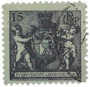 Liechtenstein 1921 - Michel 52B - Stemplet