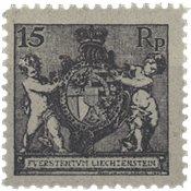 Liechtenstein 1921 - Michel 52B - Ubrugt