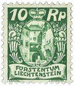 Liechtenstein 1924 - Michel 68 - Ubrugt
