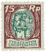 Liechtenstein 1924 - Michel 69 - Ubrugt