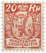 Liechtenstein 1924 - Michel 70 - Ubrugt