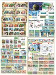 Collection thématique - Sport/animaux/fleurs en classeur