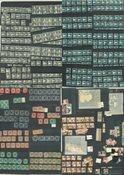 Palæstina - Mange små indstikskort C6-format