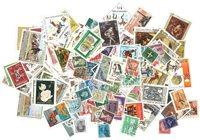 Hele verden - Frimærkepakke - 300 forskellige - Stemplet