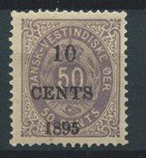 Danish West Indies 1895 - AFA 15 - Mint