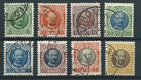 Danish West Indies 1907 - AFA 36-43 - Cancelled
