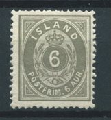 Islande 1875 - AFA 7 - Neuf avec charnière