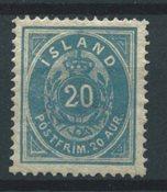 Islande 1882 - AFA 14 - Neuf avec charnière