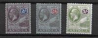 British Colonies 1927 - Mic. 57-59 - Unused