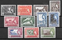 British Colonies 1957 - Mic. 44-54 - Mint