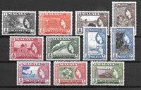 British Colonies 1957 - Mic. 44-55 - Unused