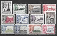 British Colonies 1952 - Mic. 98-109 - Unused