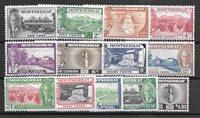 British Colonies 1951 - GS. 115-127 - Unused