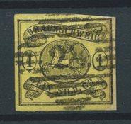 États allemands 1853 - AFA 6a - Oblitéré