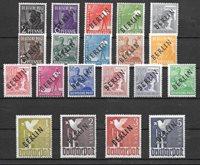 Berlin 1948 - AFA 1-20 - Mint