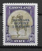 Groenland  - AFA 20 - Neuf avec charnière