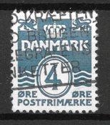 Danemark  - AFA 198Bx - Oblitéré