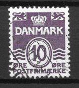 Denmark  - AFA  248x - Cancelled