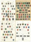 Monde Entier - Collection en 4 albums anciens