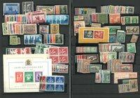 Europe - Mint sets and souvenir sheets