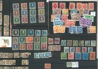 Diverse lande - Blandet lot med portomærker