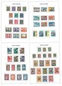 Vatican - Collection en album Davo préimprimé 1929-1968