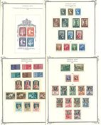 Vatican - Collection en album préimprimé 1935-66