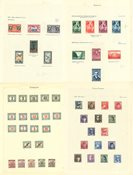 Europe - Album avec des timbres neufs et obl.