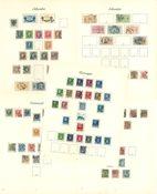 Skandinavien - Fortryksalbum med postfriske og stemplede mærker