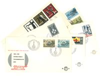 Complete jaargang 1965 FDC´s Nederland
