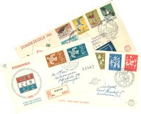 Holland year 1961 - FDC